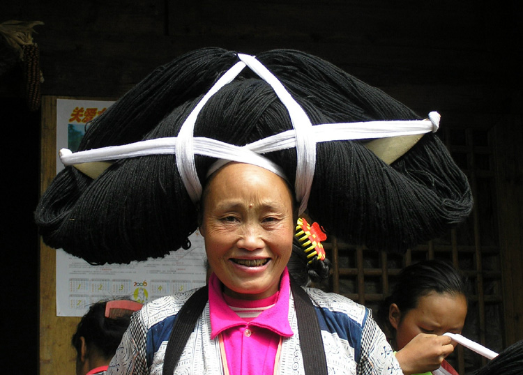 Coiffure Chinoise Femme Coupe Cheveux Long